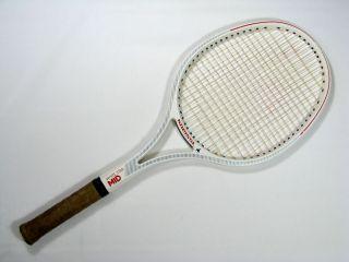 KNEISSL WHITE STAR MID Tennis RACKET graphite 80s Lendl rare Austria