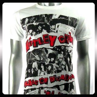 Motley Crue Tommy Lee American Rock Men T shirt Sz M