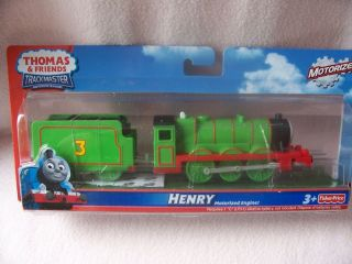 THOMAS THE TANK ~TRACKMASTER MOTORISED ENGINE HENRY FISHER PRICE R9234
