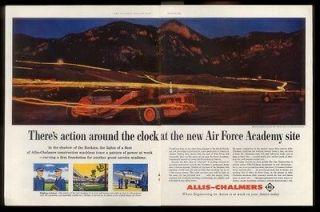 1956 BIG Allis Chalmers construction machines scraper grader photo
