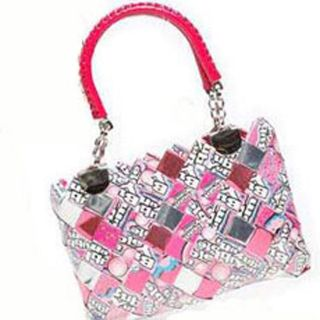 Nahui Ollin Arm Candy Tootsie Candy Wrapper Dancing Queen Purse