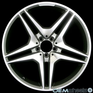 20 GUNMETAL SPORT WHEELS FITS MERCEDES BENZ AMG CLS E S SL CLASS
