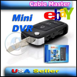 KEY HIDDEN SPY MINI CAMERA DVR DIGITAL VIDEO VOICE CAM RECORDER 4GB