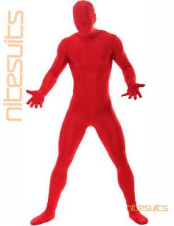 Spandex Body Suit   Full Body Zentai 2nd Skin Suit   Greenman Costumes