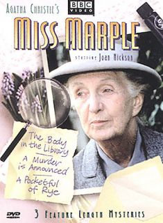 Miss Marple   3 Volume Gift Set DVD, 2002, 3 Disc Set, Three Disc Set