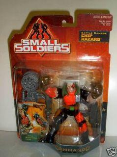 RARE Small Soldiers Battle Damage Chip Hazard Figure