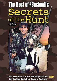 The Best of Bushnells Secrets of the Hunt   Vol. 2 DVD, 2004