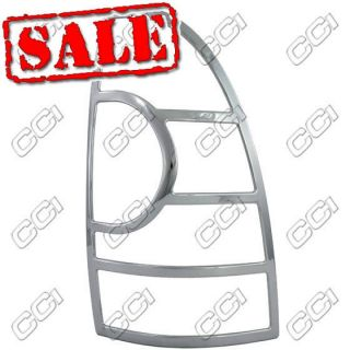 05 09 TOYOTA TACOMA TRIPLE CHROME PLATED TAIL LIGHT TRIM KIT FREE