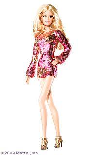 Heidi Klum 2009 Barbie Doll