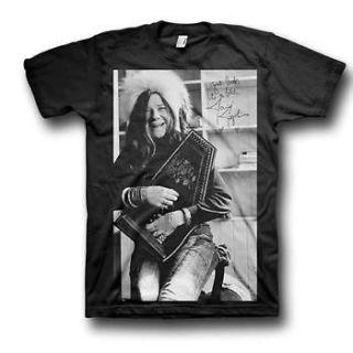 Janis Joplin Good Luck Laugh Band T Shirt   S, M, L, XL