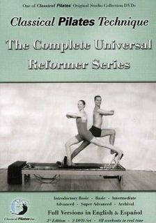 Classical Pilates Technique The Complete Universal Reformer Series [2