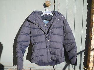 Sarah Jessica Parker Bitten Heavy Navy Blue Puffer Jacket SizeLg New