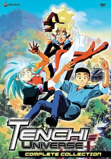 Tenchi Universe   Complete Collection DVD, 2007, 8 Disc Set