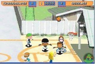 Backyard Basketball Nintendo Game Boy Advance, 2004