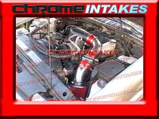 02 03 05 CHEVY S10/ZR2/BLAZER/SONOMA/JIMMY 4.3L V6 COLD AIR INTAKE RED