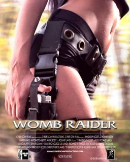 Womb Raider DVD, 2005, Rated Version