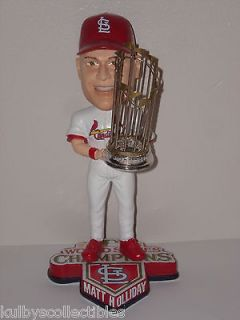 MATT HOLLIDAY St Louis Cardinals Bobble Head 2011 World Series Champs