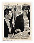 John Kennedy Inaugural Invitation Program Dinner Menu Collection JFK