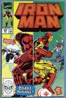 1990 Marvel Comics IRON MAN