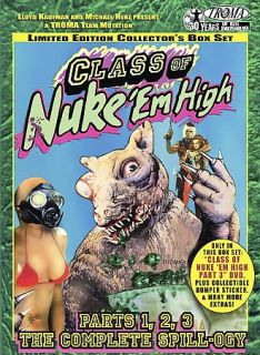 Class Of NukeEm High Box Set DVD, 2005, 3 Disc Set