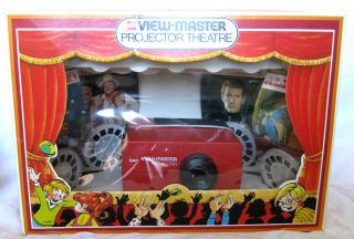 VTG VIEW MASTER PROJECTOR THEATRE / THEATER JAMES BOND ALICE BONANZA