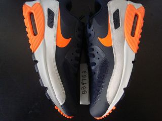 Nike AIR MAX 90 hyperfuse CHICAGO BEARS sz 8 13 obsidian orange