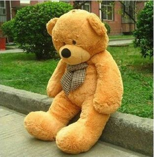 lovely 47 giant huge cuddly bear toy doll soft plush