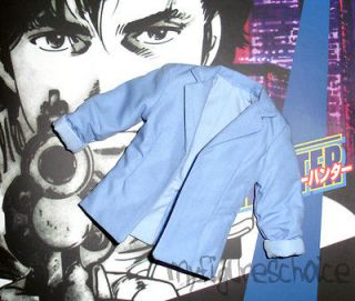HOT TOYS   16 City Hunter Ryo Saeba Light Blue Jacket