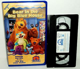 Bear in the Big Blue House, Vol. 2   Friends for Life / The Big Little