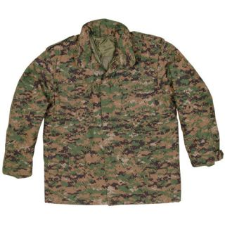 CAOUFLAGE VIETNAM ERA M 65 FIELD JACKET – With Removable Liner