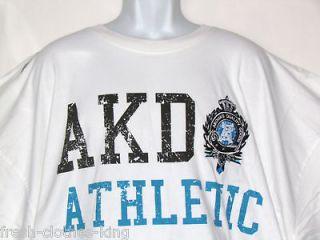 AKADEMIKS Shirt New Mens Ckicket White Tee Size 4XL 5XL Big & Tall