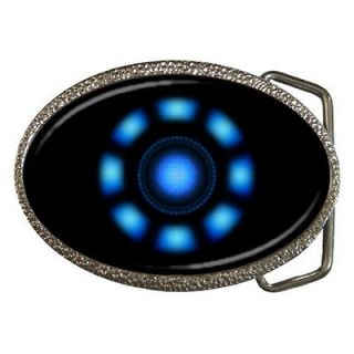 The Avengers Tony Stark Arc Reactor Iron Man Belt Buckle new!