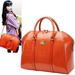 2012SS MCM New Ivana Patent large Bag [K pop Miss A Sujis favorite