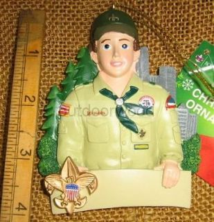 Boy Scouts of America Boy Scout Licenced Christmas Tree Ornament Tan