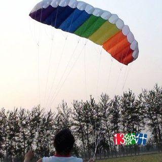 Power Dual Line Parachute Kite For Beginner Parafoil kite 2 line