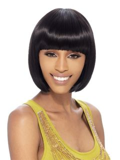 COSMOS BY FREETRESS EQUAL SYNTHETIC WIG SHORT CLEOPATRA BOB STYLE