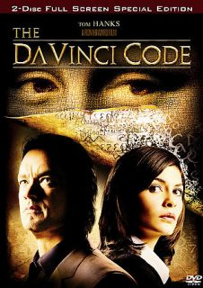 The DaVinci Code (DVD 2006, 2 Disc Set, FS) ~Tom Hanks ~Audrey Tautou
