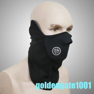 Half Mask Sport Snow Black For Motorcycle Bicycle Bike Ski Neck Warmer