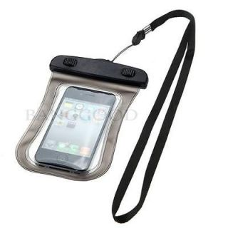Waterproof Protective Pouch Bag Case Cover For iPhone 4 4S 3GS Galaxy