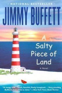 Salty Piece of Land by Jimmy Buffett 2005, Paperback