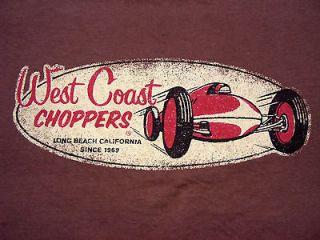 Medium WEST COAST CHOPPERS Long Beach California Motorcycle Biker
