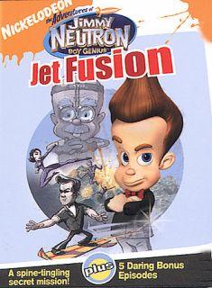 The Adventures of Jimmy Neutron, Boy Genius   Jet Fusion DVD, 2004