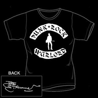 Joe Strummer Warlord T Shirt Punk The Clash
