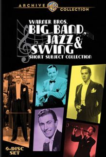 Warner Bros. Big Band, Jazz Swing Short Subject Collection DVD, 2009