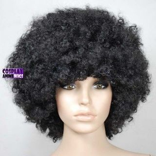 High quality Jumbo Unisex Black Afro Cosplay Wigs A18