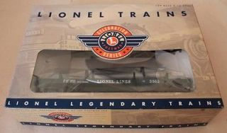 LIONEL Lionel Lines Helium Tank Unloading Car *Postwar Series* 6 19878