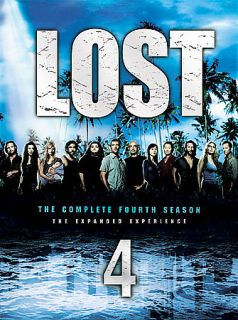 Lost   The Complete Fourth Season DVD, 2008, 6 Disc Set