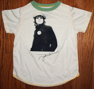 New Authentic Rowdy Sprout John Lennon Vintage Inspired Kids T Shirt
