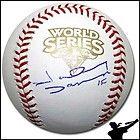 Johnny Damon Signed Auto 2009 World Series Baseball Ball   Yankees