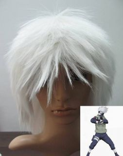 kakashi wig in Clothing, Shoes & Accessories